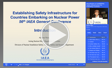 Introduction to Establishing Safety Infrastructure for Countries Embarking on Nuclear Power