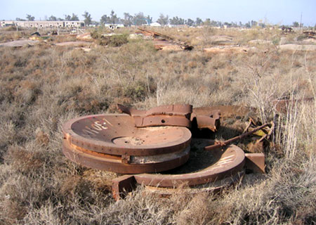 Scrapyards and Burial Sites